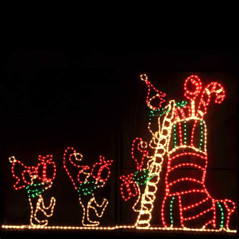 gallery of lighted christmas yard decorations perfect