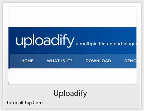 Uploadify  Tutorialchip