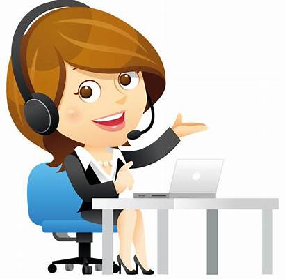 Call Center Clip Clipart Telephone Graphic Animation
