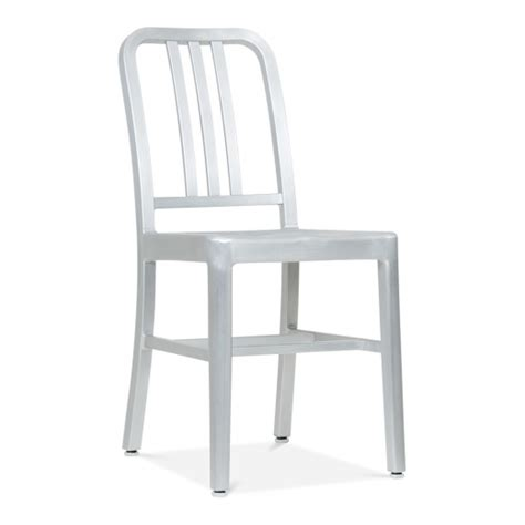 restaurant la chaise metal dining chair 1006 silver anodized restaurant