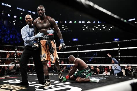 anthony joshua deontay wilder lets     ring