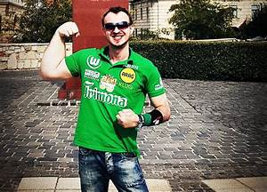 Matthias Schlitte  Real Life Popeye With Super Strong Arm