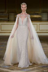 berta fall 2016 wedding dresses new york bridal runway With wedding dress with cape