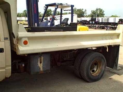 caspers truck equipment  fitted knapheide kdb dump body