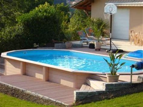 piscines hors sol pas cher achat vente acheter liner piscine en bois rectangulaire