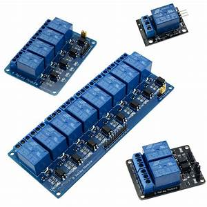 5v 1  2  4  8 Channel Relay Board Module For Arduino