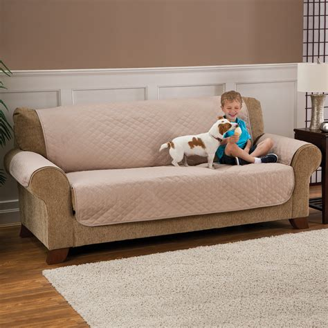 Sofa Pet Protector Deluxe Armless Furniture Cover For Sofa