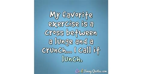 favorite exercise   cross   lunge