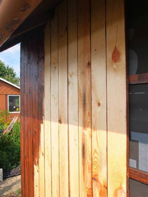 Nach Dem Streichen Fenster Auf Oder Heizung An by Renovierung Der Gartenlaube Teil 3 R 252 Ckwand Erneuern Und