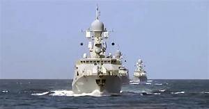 Russian warships fire cruise missiles at targets in Syria ...