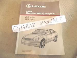 1999 Lexus Gs430 Gs300 Electrical Wiring Diagram Service