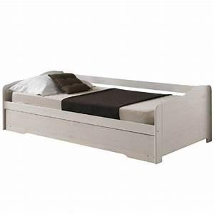 Lit Bois Massif Ikea : lit banquette pas cher ~ Teatrodelosmanantiales.com Idées de Décoration