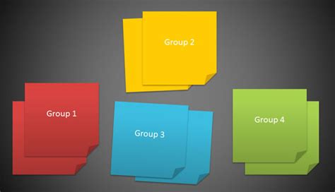 how to use powerpoint templates how to create 3m post it images using powerpoint 2010 and shapes