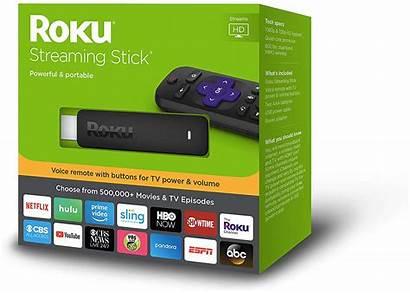 Roku Stick Streaming Remote Voice Walmart Power