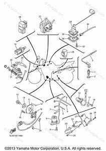Yamaha Motorcycle 2005 Oem Parts Diagram For Electrical