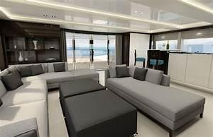 Sunseeker 131 Super Tri Deck Yacht London Boat Show 2016