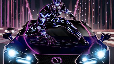 artwork black panther lexus oi desktop wallpapers