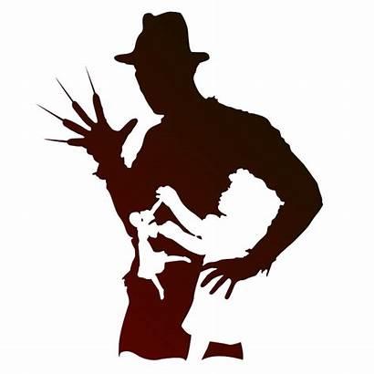 Freddy Krueger Silhouette Clipart Clip Suffer Children