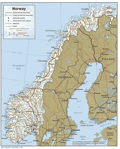 Carte Du Monde Avec Norvege by Norvege Carte