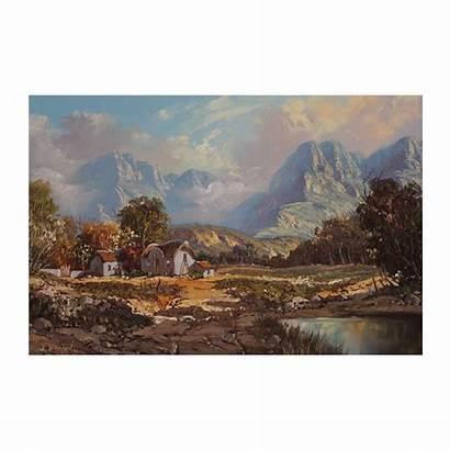 Albertyn Michael Mountains Majestic Mountain Imagine Farmhouse