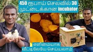 Diy Home Made Incubator Tamil