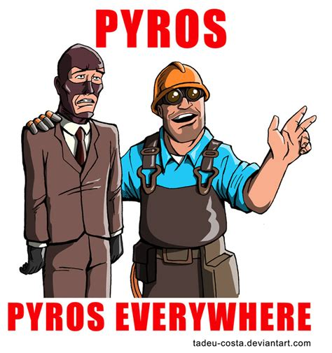 Team Fortress 2 Memes - steam community team fortress 2 meme pyros pyros everywhere