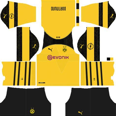 Memainkan game soccer saat berkumpul. Jersey Kit Borussia Dortmund Dream League - Jersey Terlengkap