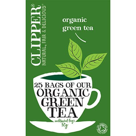 Clipper Organic Green Tea  Ethical Superstore