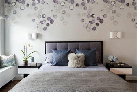 decoration murale chambre chambre contemporaine 33 idées déco murale design