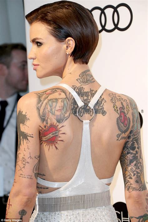 ruby rose jess origliasso tattoo wife of lionel rose says i don t even know ruby rose