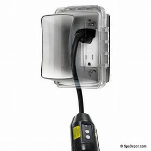 Hot Tub In-line Gfci Power Cord