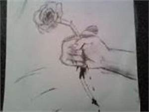 A Rose And A Bleeding Hand Photo by Ijustmadethiskindafast ...