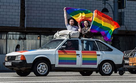 russians  gay sex  reprehensible   year spike  homophobia poll shows