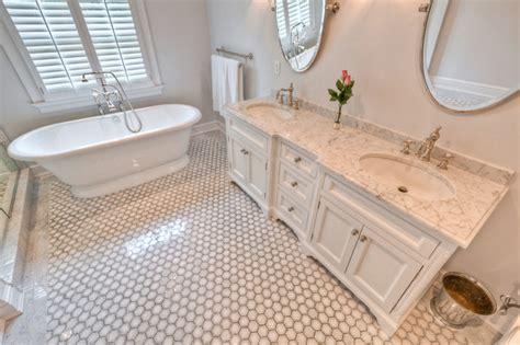 white quartzite bathroom counter top traditional