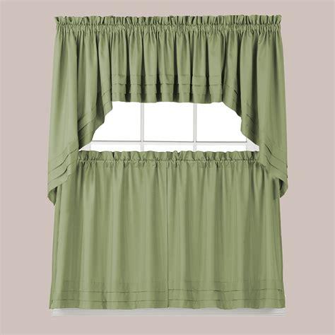 holden kitchen curtain sage green linenslesscom