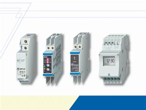 electric relays and program timers oez s r o