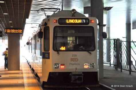 rtd light rail rtd light rail oren s transit page