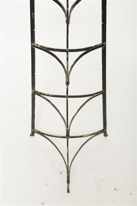 ten tier iron english standing pot rack  sale  stdibs