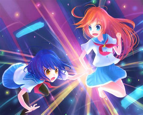 wallpaper kokona papika flip flappers hd anime