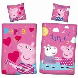 Bettwäsche Peppa Wutz : linon bettw sche peppa wutz pig dance 135 x 200cm bettzeug ~ Watch28wear.com Haus und Dekorationen