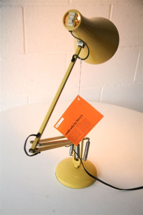 vintage anglepoise desk l by terrys and chrome