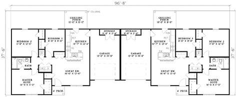 bedroom duplex  architectural designs house plans