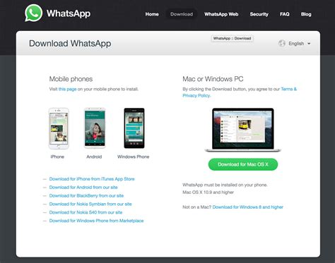 whatsapp released new desktop app for windows and os x