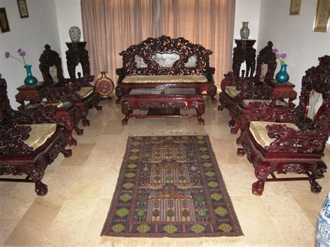chinese hand  ultra rare rose wood living room