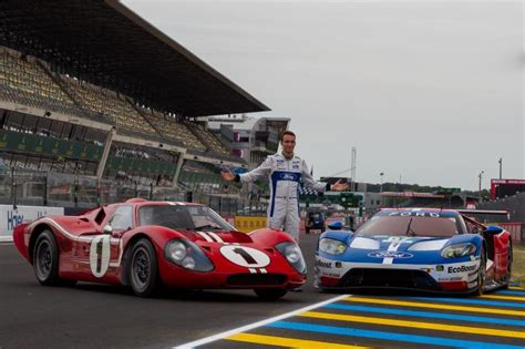 le mans org the ford gt40 winner at le mans in 1967 back at the of its trium