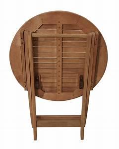 Bistrotisch Rund Holz : gartentisch rund holz selber bauen ~ Indierocktalk.com Haus und Dekorationen