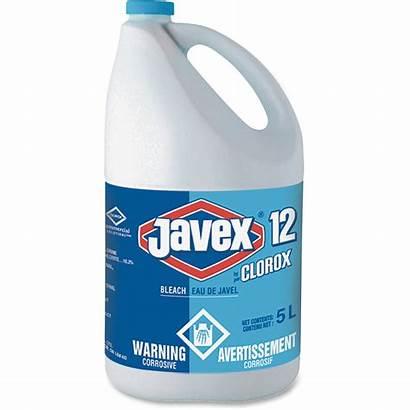 Bleach Clorox Javex Bottle Liquid Each Clear