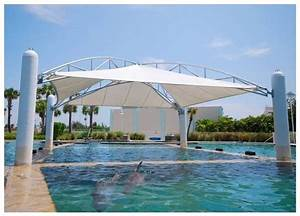 Tensioned Shade Structure Canopy At Dolphin Harbor  Miami Seaquarium  Usages At Theme Parks