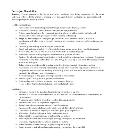 Server Description Resume by 8 Server Description Sles Sle Templates
