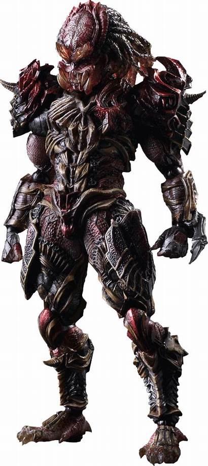 Predator Alien Transparent Background Figure Action Predators